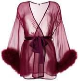 Gilda & Pearl sheer night-gown