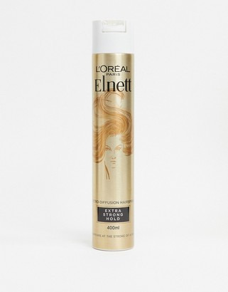 L'Oreal Elnett Extra Strong Hold & Shine Hairspray 400ml