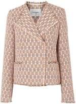 LK Bennett Heather Block Tweed Jackets
