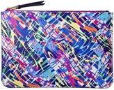 ANA ROMERO - Camouflage Leather Clutch