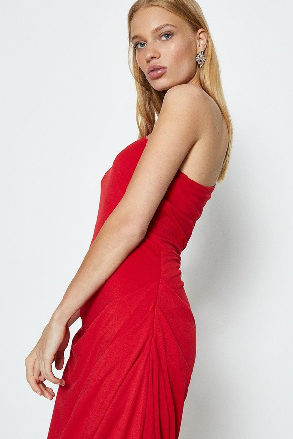 Coast One Shoulder Jersey Maxi Dress
