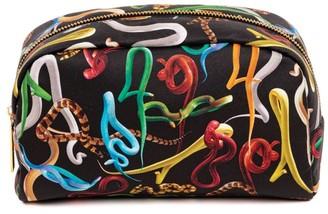 Seletti x TOILETPAPER Snakes Cosmetic Bag