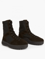 Yeezy Onyx Suede Military Boots