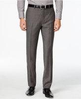 Calvin Klein Pants Charcoal Pindot 100% Wool Slim Fit