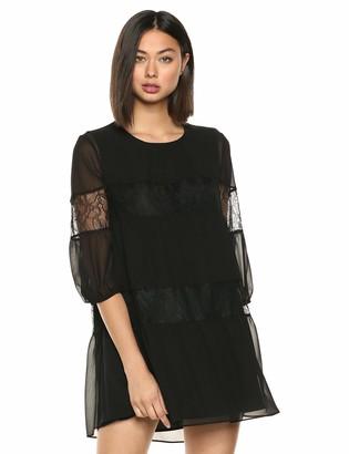BCBGeneration Women's Lace Insert Dress
