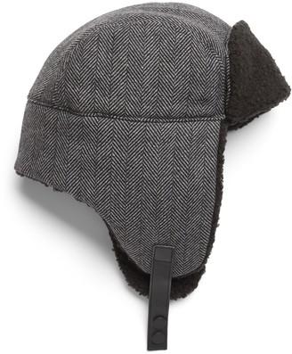 Banana Republic Herringbone Trapper Hat