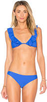 Lovers + Friends x REVOLVE Good Vibes Top in Blue. - size S (also in XS)