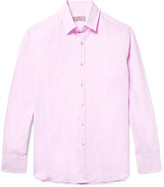 Canali Slub Linen Shirt