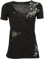 Ermanno Scervino Lace Detail T-shirt