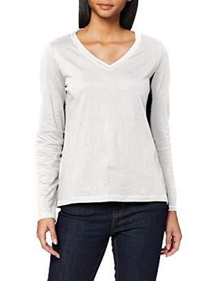 S'Oliver Women's 14.911.31.6795 Longsleeve T-Shirt,16 (Size:)