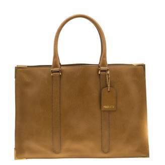 Fendi Yellow Leather Handbags