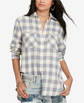 Denim & Supply Ralph Lauren Plaid Twill Utility Shirt