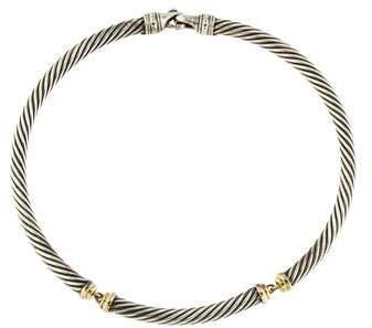David Yurman Cable Collar Necklace