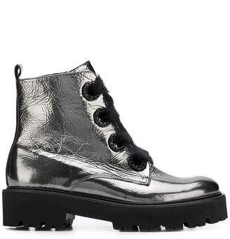Kennel + Schmenger Kennel&Schmenger metallic ankle boots