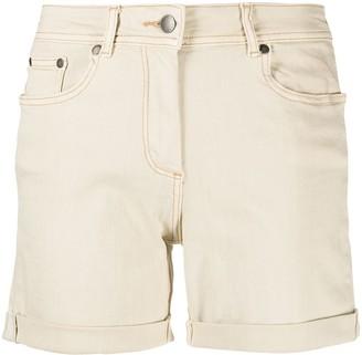 Barbour Turn-Up Hem Cotton Shorts