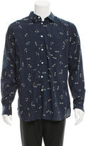 YMC Safety Pin Print Button-Up Shirt w/ Tags