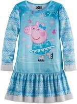 Kohl's Girls 4-8 Peppa Pig Faux-Fur Nightgown