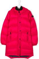 Ai Riders On The Storm Kids goggle hood puffer coat