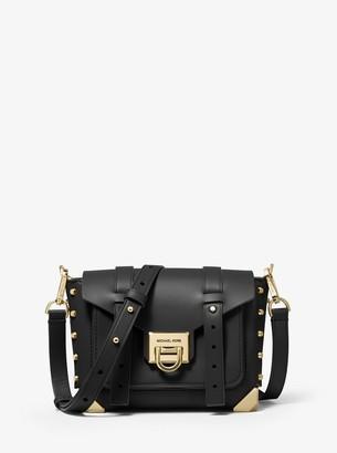 MICHAEL Michael Kors Manhattan Small Leather Crossbody Bag
