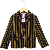 Bonpoint Girls' Striped Blazer w/ Tags