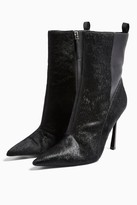 Topshop HOLLY Black Point Boots