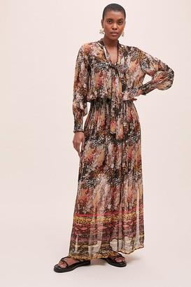 Bl Nk Bl-nk Avimanya Shimmer Maxi Dress