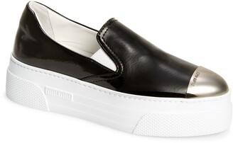 Miu Miu Platform Slip-On Sneaker