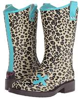 M&F Western Kids Piper (Toddler/Little Kid/Big Kid) (Brown/Turquoise) Cowboy Boots