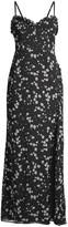 Fame & Partners The Coronado Floral High-Slit Dress