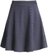Anna Field Aline skirt peacoat/white