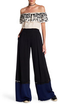 Nicole Miller Trim Techy Crepe Pants