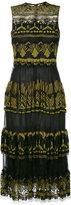 Valentino Paradise Borders veletta dress - women - Polyamide/Cotton/Polyester/Spandex/Elastane - 40