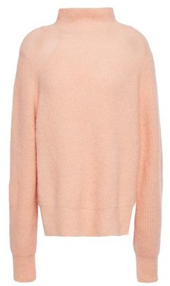 By Malene Birger Brushed-knit Turtleneck Sweater