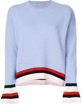 MRZ striped detail jumper