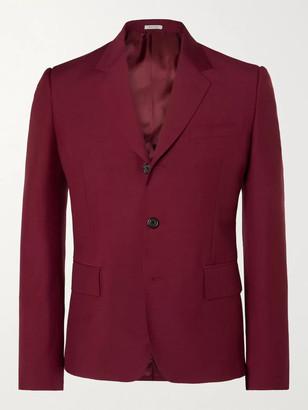 Alexander McQueen Slim-Fit Wool And Mohair-Blend Suit Jacket