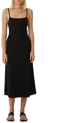 Friend of Audrey Classic Black Singlet Dress