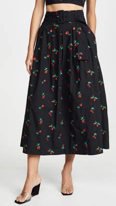 Rachel Antonoff Vinita Pleated Skirt