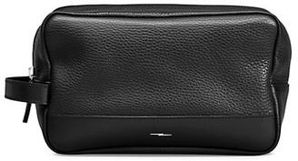 Shinola Leather Zip Washbag