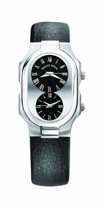 Philip Stein Teslar 2-g-cbcbLadies WatchAnalogue QuartzBlack DialBrown Leather Bracelet