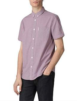 Ben Sherman Ss Mini House Gingham Shirt