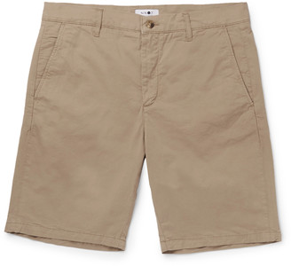 NN07 Crown Stretch-Cotton Twill Shorts