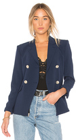 L'Agence The Marc Blazer in Navy. - size 0 (also in 2,4)