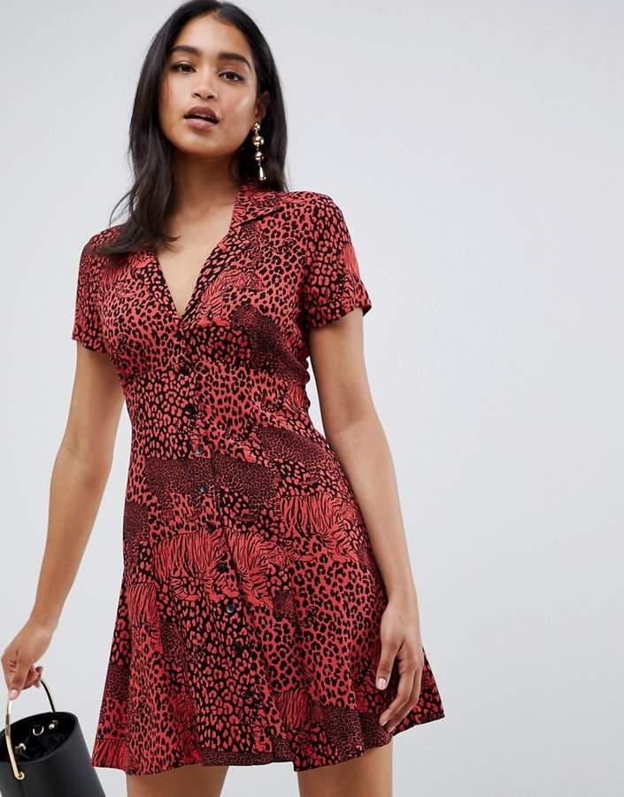 1d0061f2088e Asos Animal Print Dresses - ShopStyle