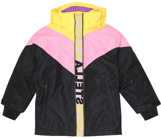 Stella McCartney Kids Colorblocked ski jacket
