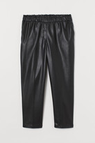H&M H&M+ Paper-bag Pants - Black