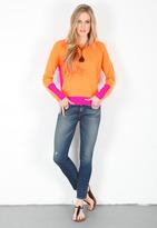 Singer22 360SWEATER Livie Sweater in Orange/Pink