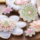 Copper Flower Cookie Cutter Set, 5-Piece