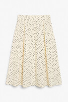 Thumbnail for your product : Monki Pleated midi skirt