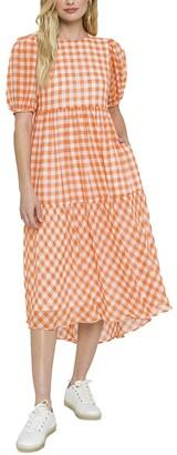 ENGLISH FACTORY Midi Dress