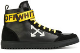 Off-White high-top arrow sneakers
